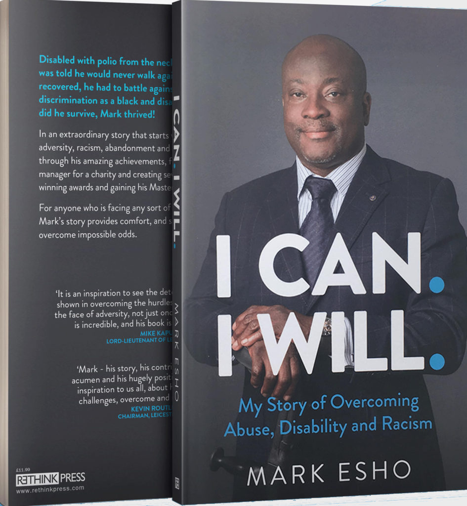 Paperback of i can i will book written by Mark Esho